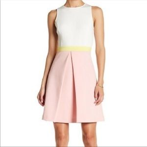 ERIN by Erin featherston color block dress